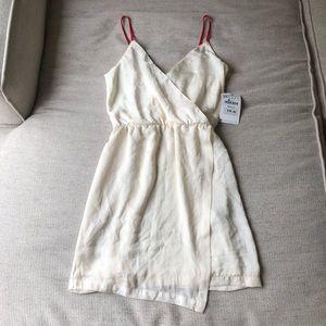NWT Zara Ivory Wrap Dress